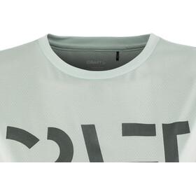 Craft Eaze Logo Koszulka do biegania z krótkim rękawem Kobiety turkusowy